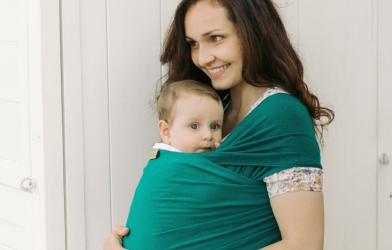 妊娠中に戻ったような感覚で抱っこができる